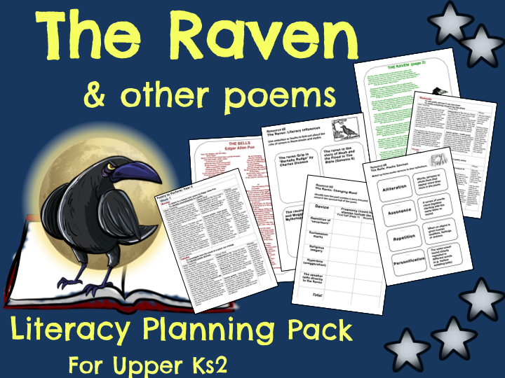 39 the raven 39 poetry planning primary english ideas primary english performance poetry literacy. Black Bedroom Furniture Sets. Home Design Ideas