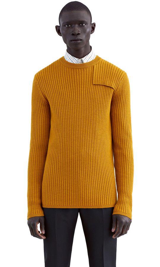 Julius Mustard Yellow Wardrobe 4 Men Pinterest Knitwear