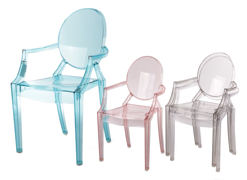 For A Design Loving Child (and Parent!) Replica Philippe Starck Louis Ghost