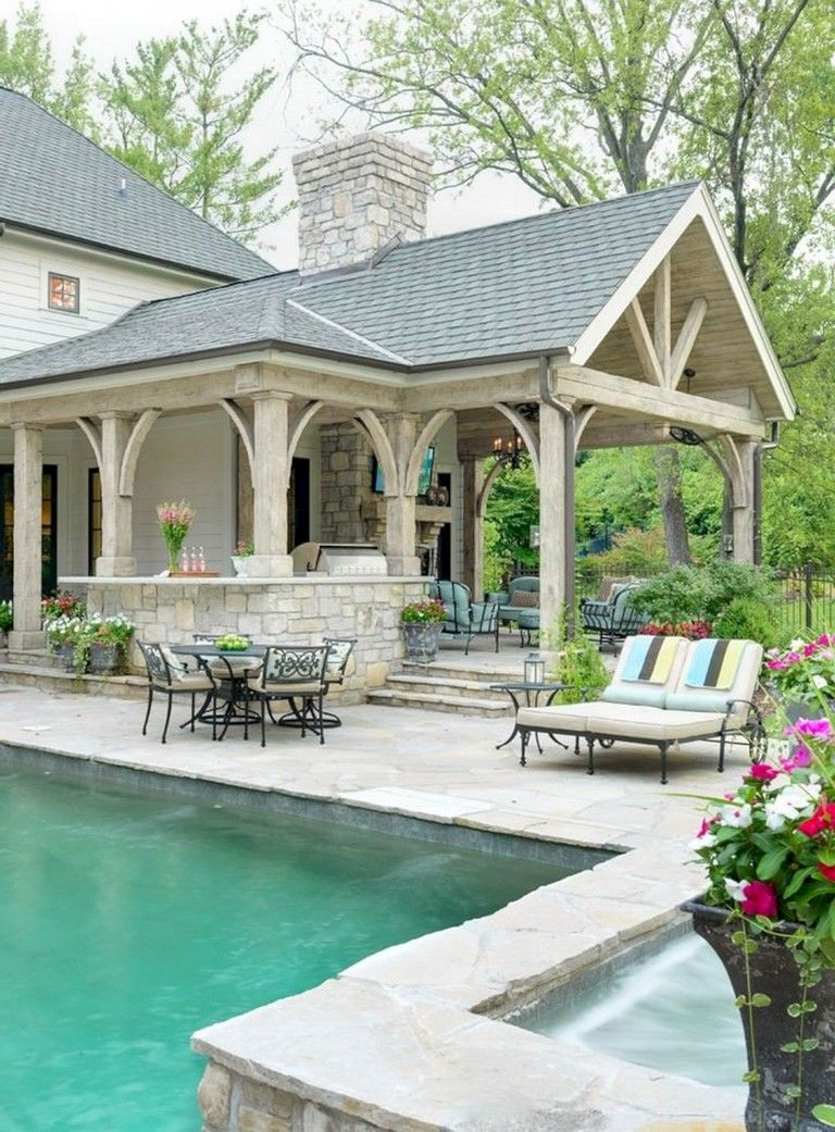 10+ Beautiful Outdoor Living Space Design Ideas for Inspiration #outdoorrooms