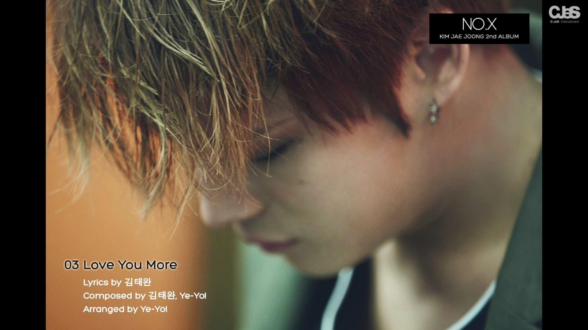 [Pre-listening] 김재중(KIM JAE JOONG) - 2nd Album 녹스(NO.X) 미리듣기