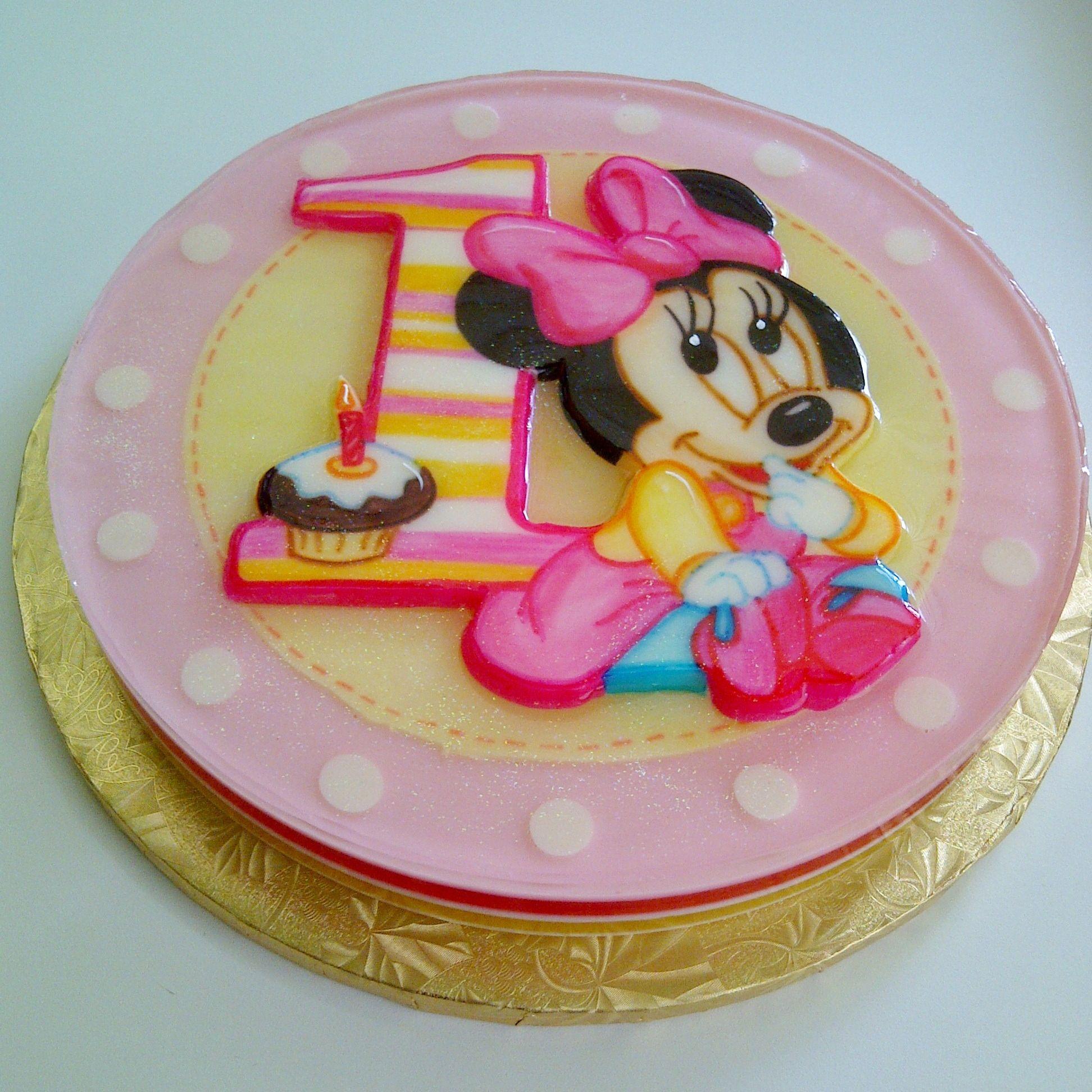 Baby Minnie Mouse Gelatin | Gelatin | Pinterest | Ratones, Bebé y ...