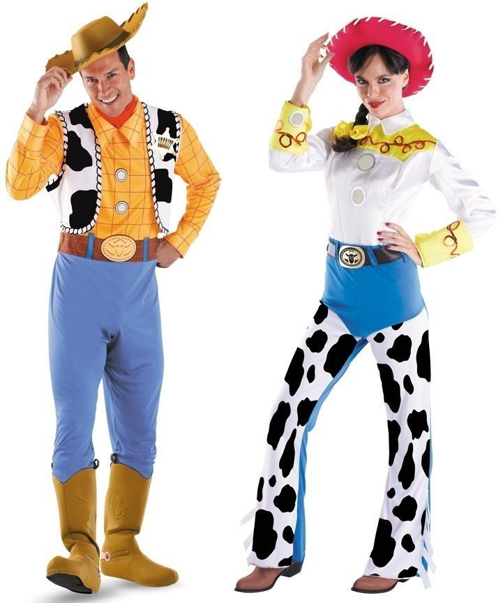 Couples Toy Story Woody and Jessie Adult Costume Disney Movie Party  Halloween  disney  movie  party  halloween  costume  adult  story  woody   jessie   ... 3f0d24e4651