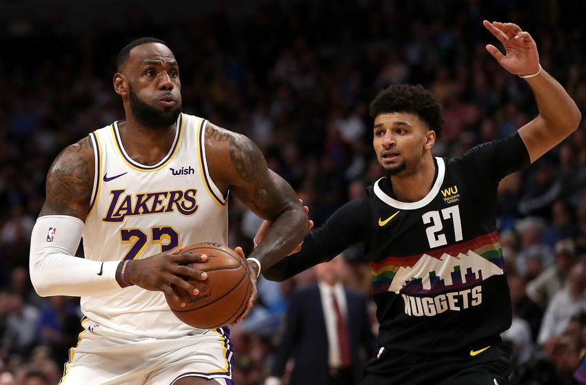 Los Angeles Lakers Get Back In Win Column Vs Denver Nuggets Lakeshow Milehighbasketball Los Angeles Lakers Denver Nuggets Nba News