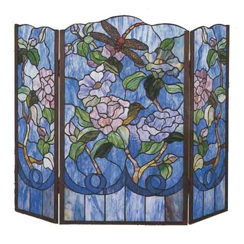Meyda Tiffany Tiffany Fireplace Screen | Tiffany ...