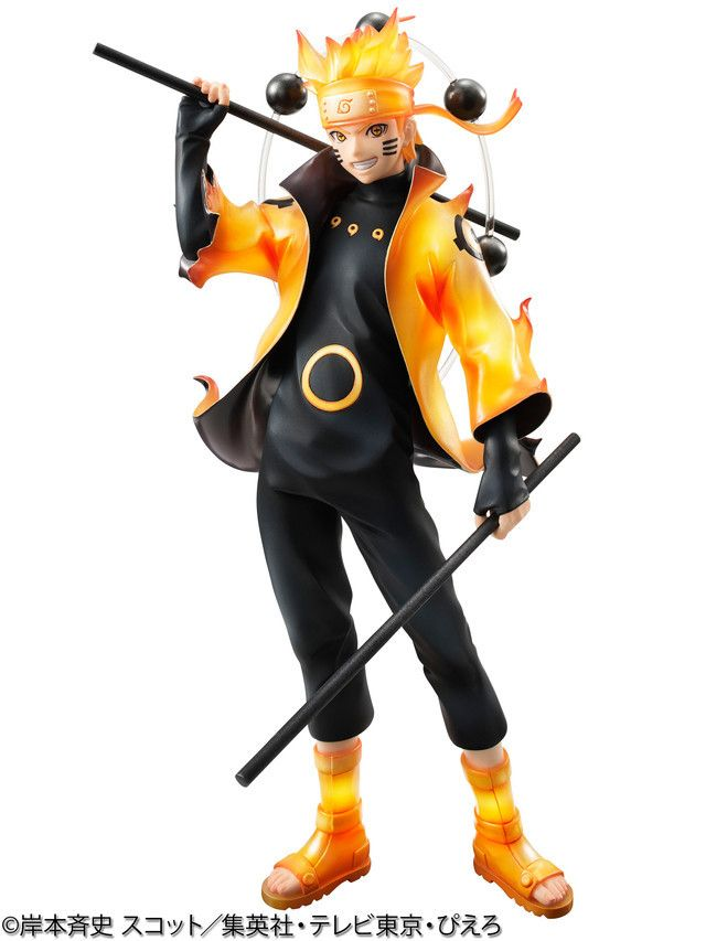 Naruto S Six Paths Sage Mode Captured In New Gem Figure Naruto