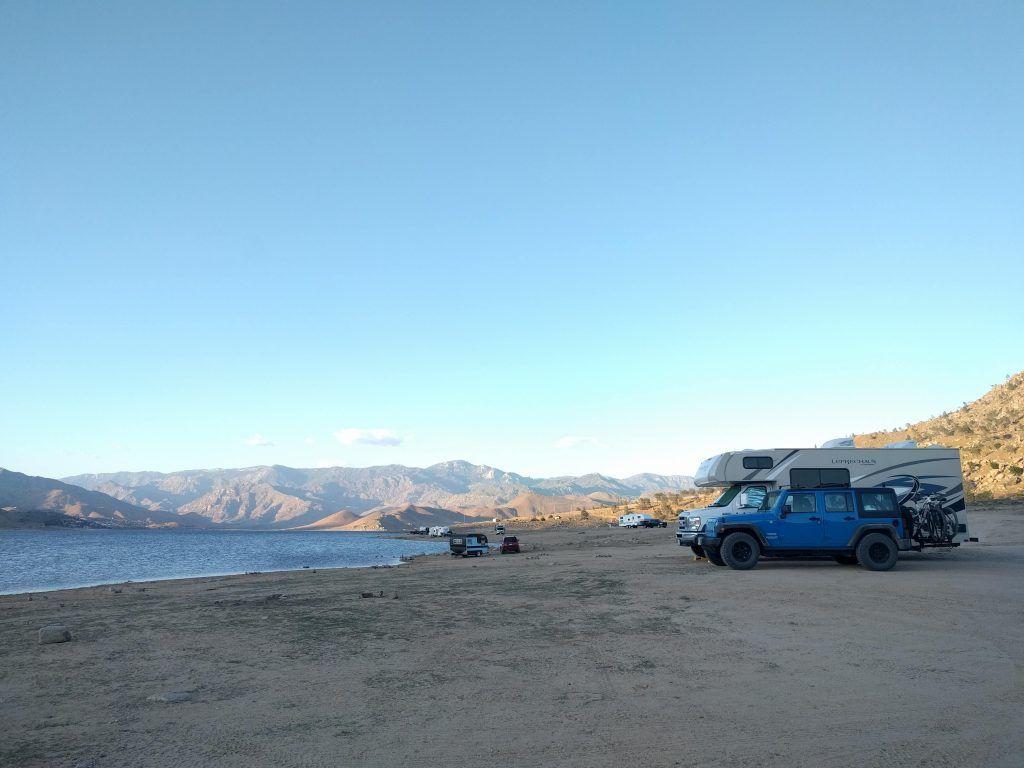 Camping near Lake Isabella, California camping campsite