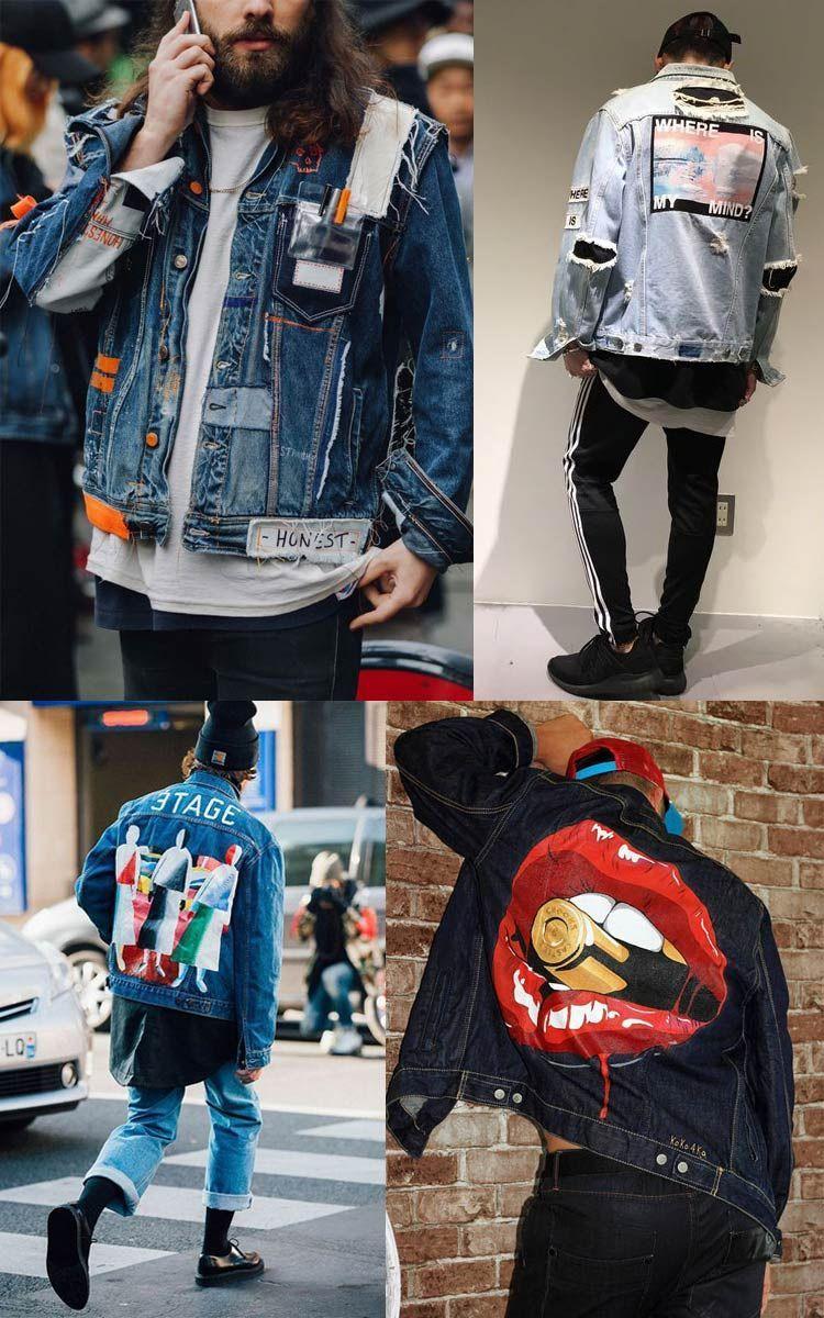 Jeans Moderno Diy Art Diy Denim Jacket Mens Fashion Jeans Denim Fashion [ 1200 x 750 Pixel ]