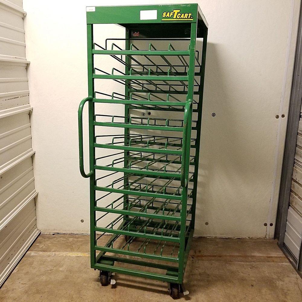 Saftcart MDE-50H Medical Cart 50 Cylinder Storage Rack