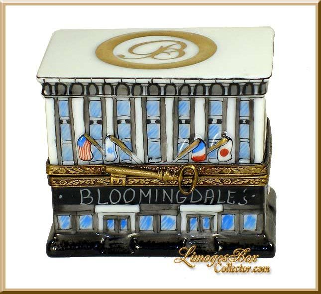 Bloomingdale's Dept Store Building Limoges Box (Retired)