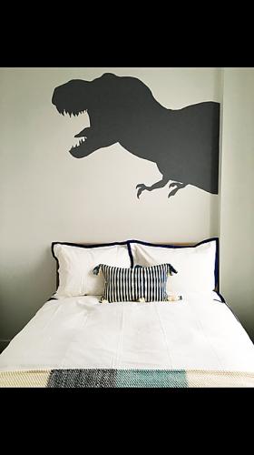 Dinosaur Bedroom Mural Kids Children Boys Bedroom Mural