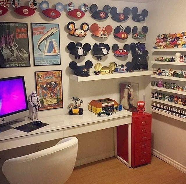 Mickey Ear Display Disney Room Decor Disney Home Disney Rooms