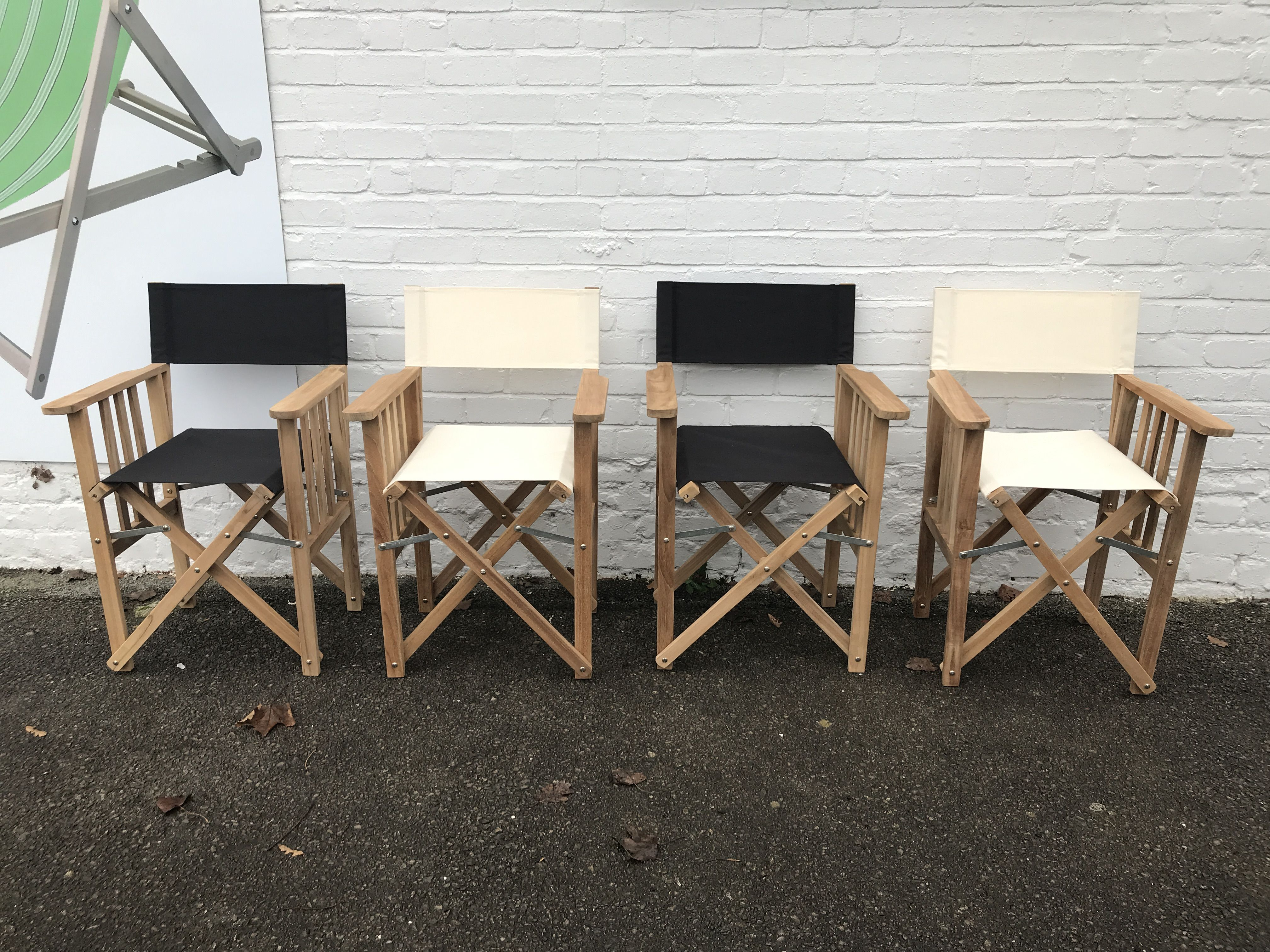 Black directors chair directors chair chair outdoor