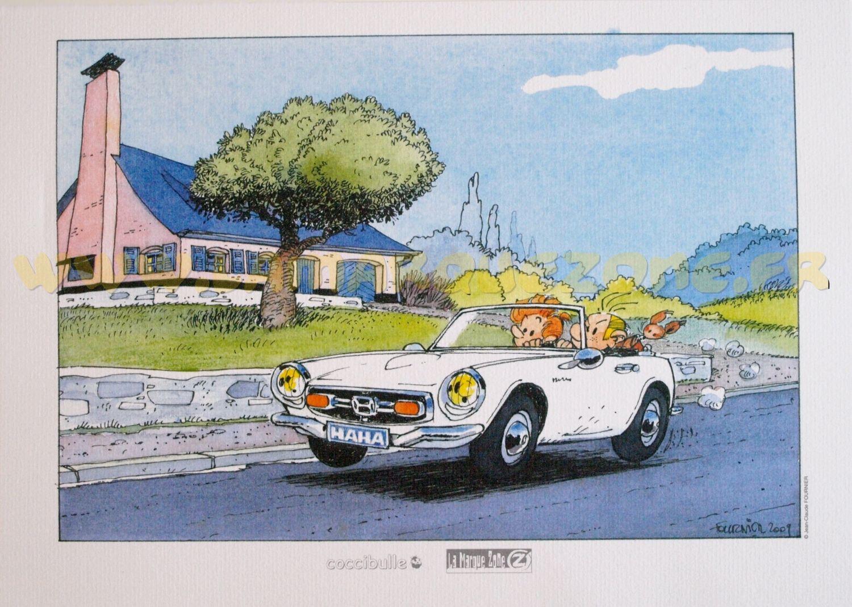 spirou fantasio spip dans la honda s800 comic cars pinterest spirou fournier et honda. Black Bedroom Furniture Sets. Home Design Ideas