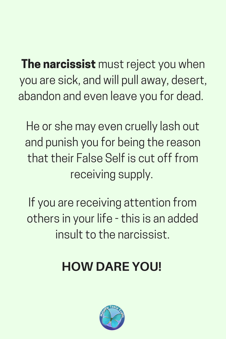 When a narcissist goes silent