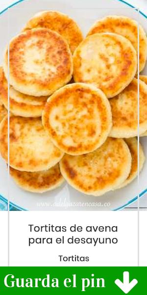 Disfruta de estas tortitas de avena al desayuno