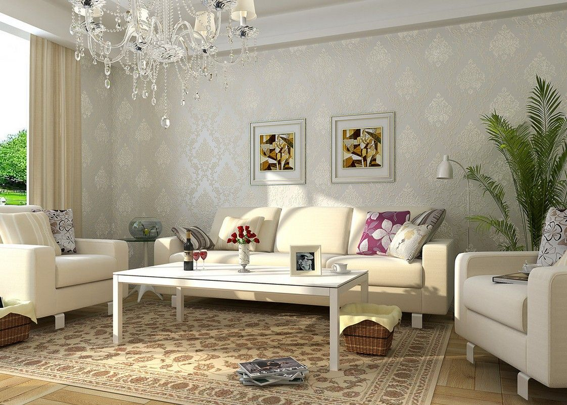 Image Result For Pretty Living Rooms  Living Rooms I Love Beauteous Wallpaper Living Room Ideas For Decorating Inspiration Design