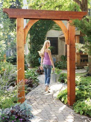 Garden arch, The Family Handyman, May 2008