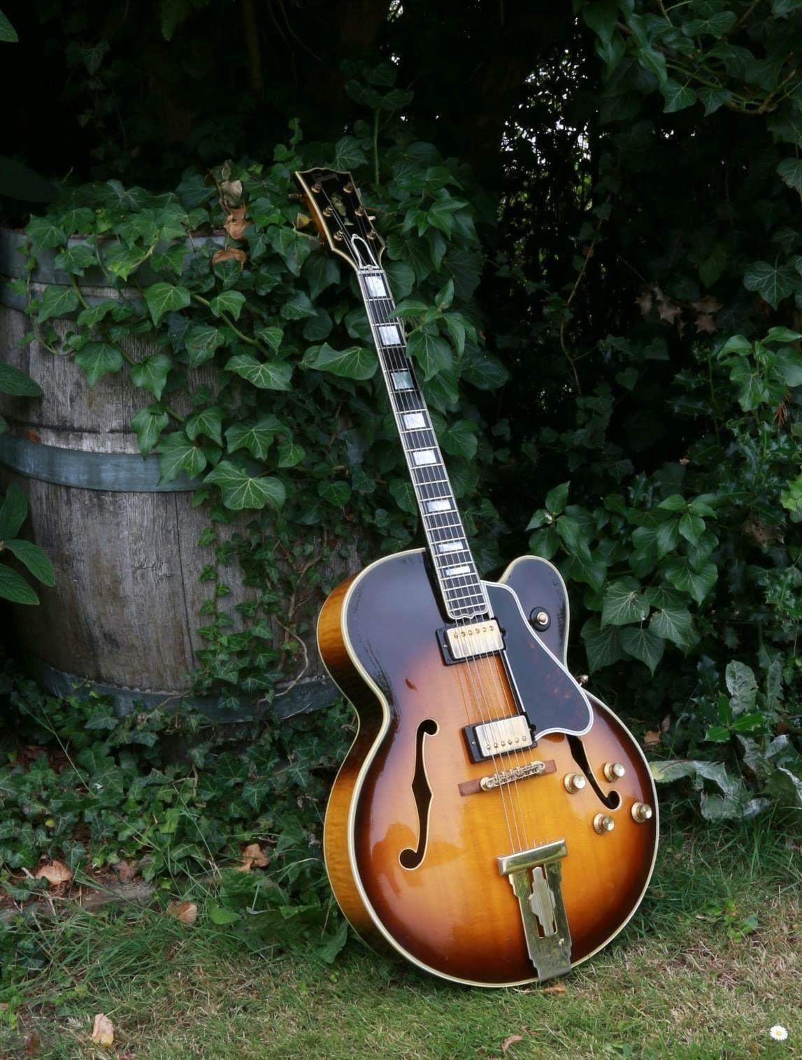 1961 Gibson L 5 Ces Con Imagenes Guitarras