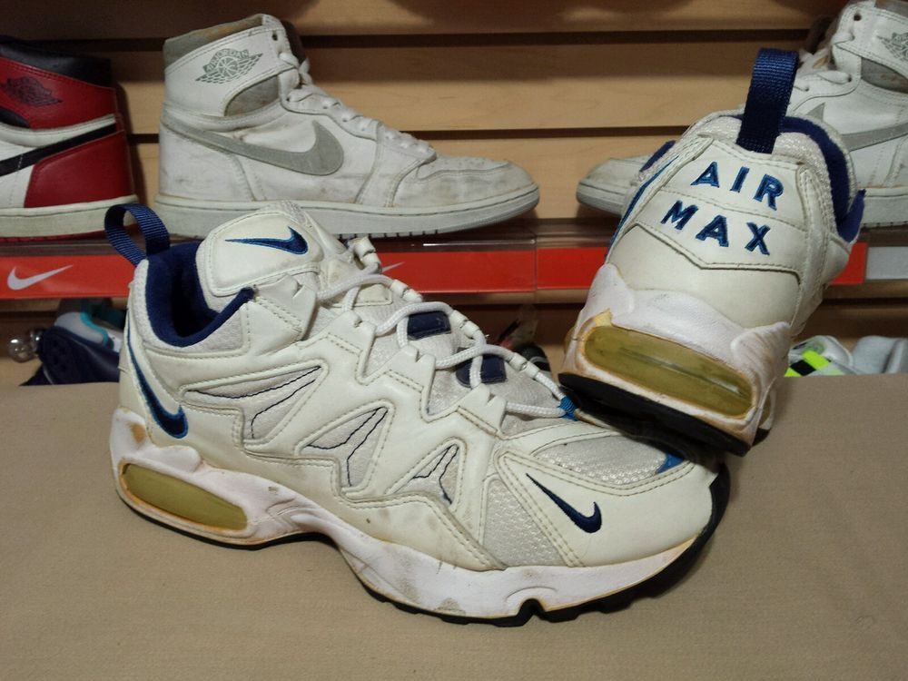 c83f043525e4c VTG OG 1996 97 Nike Air Max Tailwind White Blue 9.5 Men s 104067 og 95 90 1  am1  Nike  AthleticSneakers