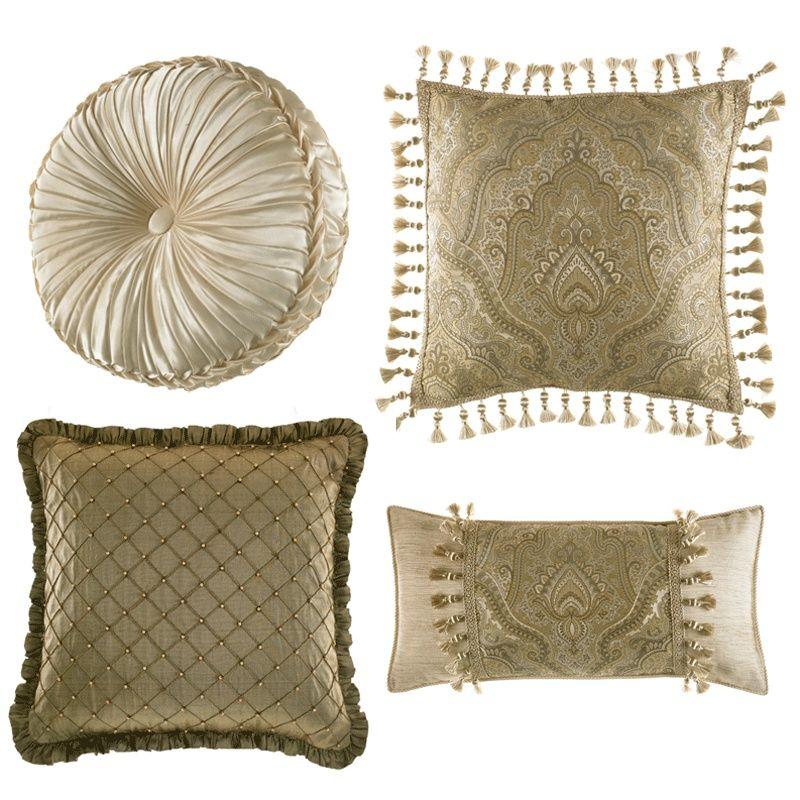 Decorative Pillows Croscill Coppelia Decorative Pillows