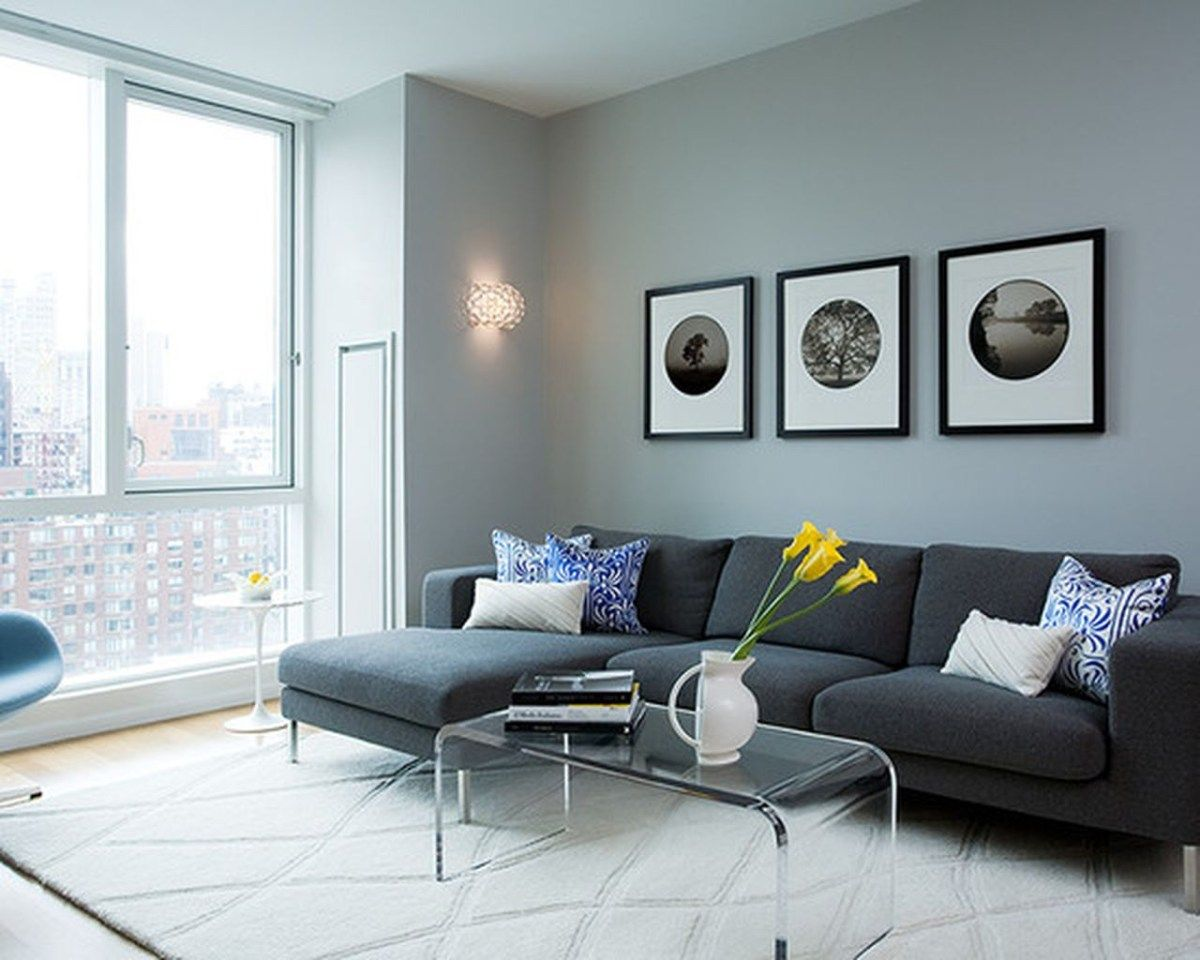 Charcoal Gray Sectional Sofa Ideas With Chaise Lounge 18
