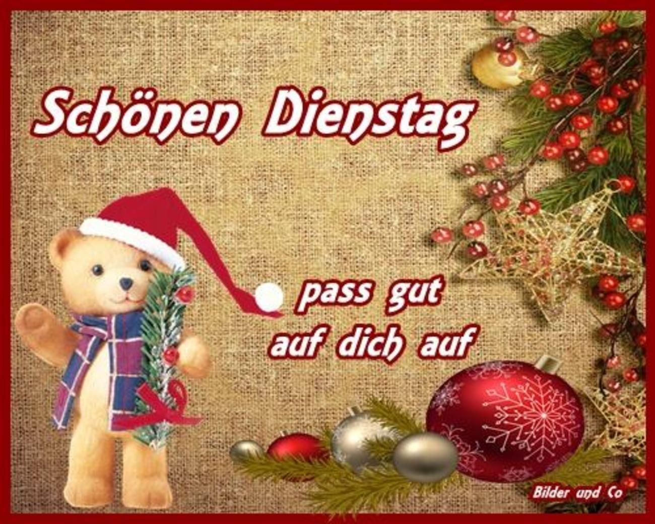 Guten Morgen Schönen Dienstag Weihnachten 86 Gbpicsbilder