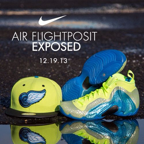 cheap for discount f7a77 5190a Available 12 19 13- Nike  Air Flightposite Exposed- Volt  Photo