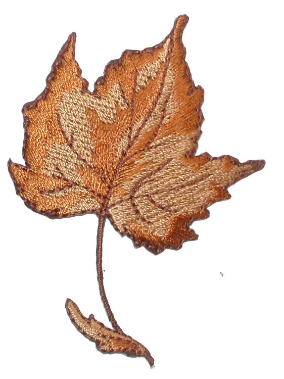 PATCHWORK PANDA LLC - Iron On Patch Applique - Fall Maple Leaf , $0.75 (http://www.patchworkpandatrims.com/iron-on-patch-applique-fall-maple-leaf/)