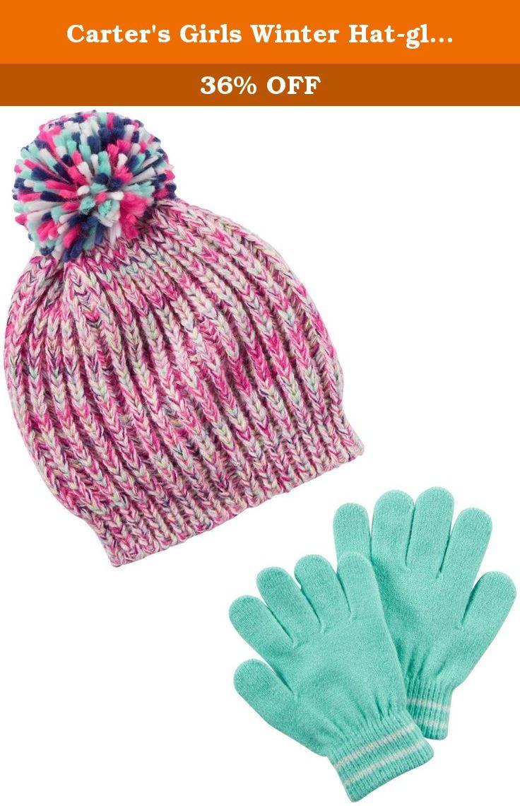4802561a4c7 Carter s Girls Winter Hat-glove Sets D08g149