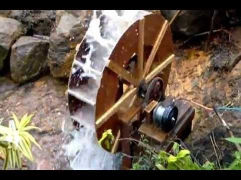 American History Water Wheels In Action Youtube