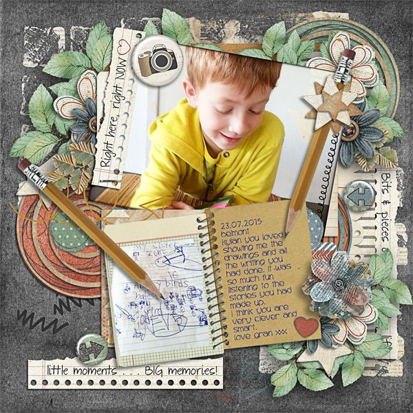 Created with Here and Now (Collection) by Kimeric Kreations and Back 2 School by Angelclaud ArtRoom http://www.thedigichick.com/shop/acart-back2school.html #kimerickreations, #angelclaudartroom, #thedigichick, #digiscrapping