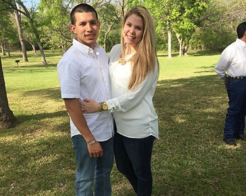 Javi Marroquin with his ex-wife Kailyn Lowry
