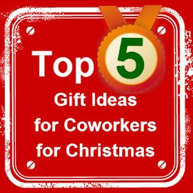 Christmas gifts ideas for coworkers