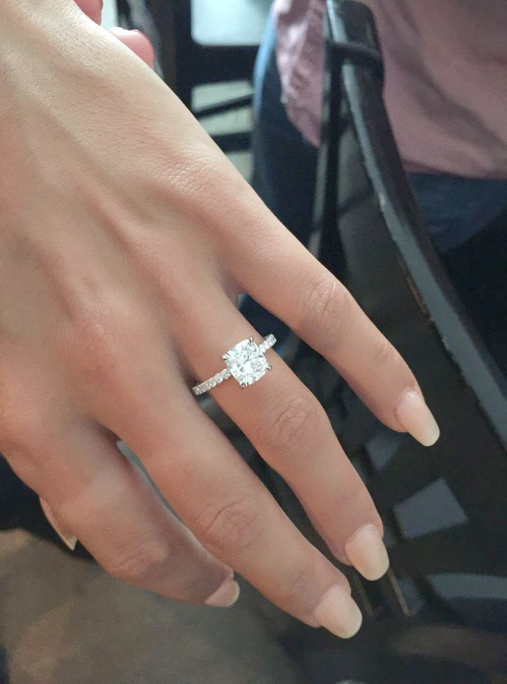 Tiffany Engagement Rings Instagram amid Diamond Engagement Rings Hatton Garden though Vintage Engagement Rings Johannesburg that Vintage Engagement Rings For Sale #cushionengagementring