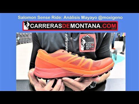 Salomon Sense ride: Zapatillas trail running. Análisis