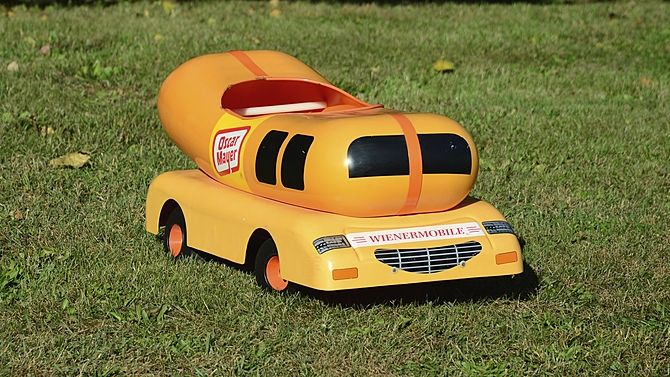 Weinermobile  Pedal Car
