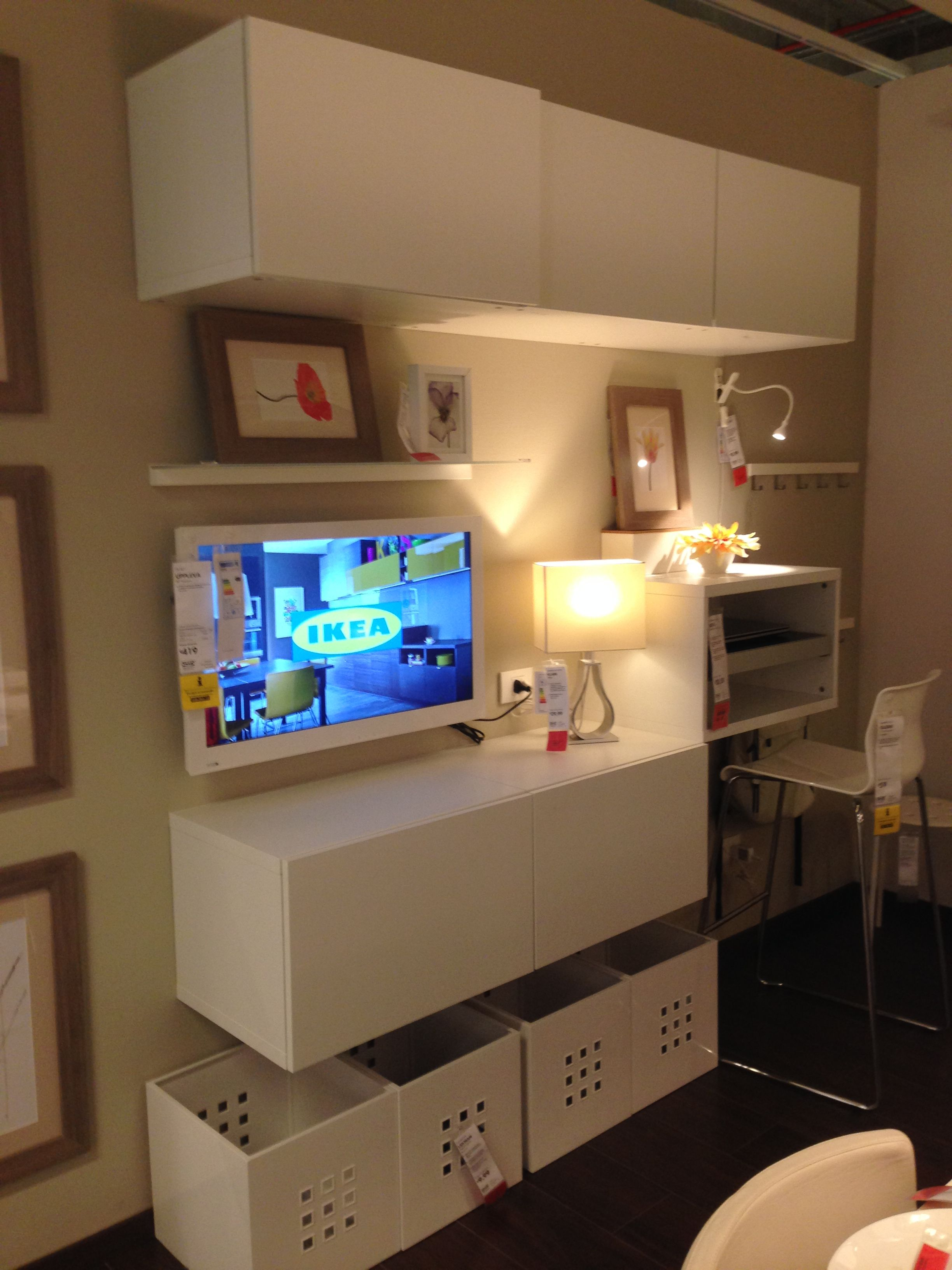 Mobile tv pc ikea per la cucina idee for the home pinterest cucina - Mobile tv angolare ikea ...