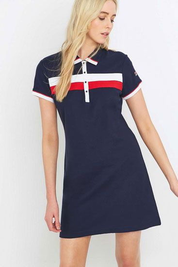 db524257b4f Urban Outfitters x Fila Serena 1980s-style polo dress | Clothes ...