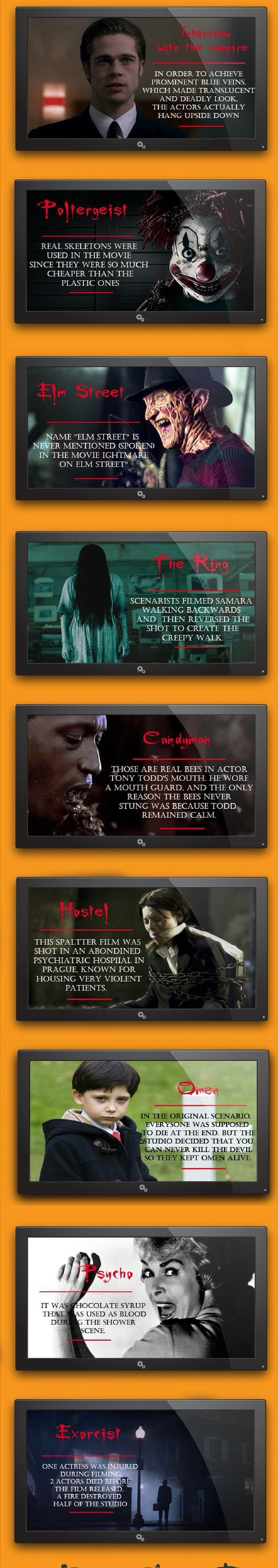 Interesting horror movie facts 33