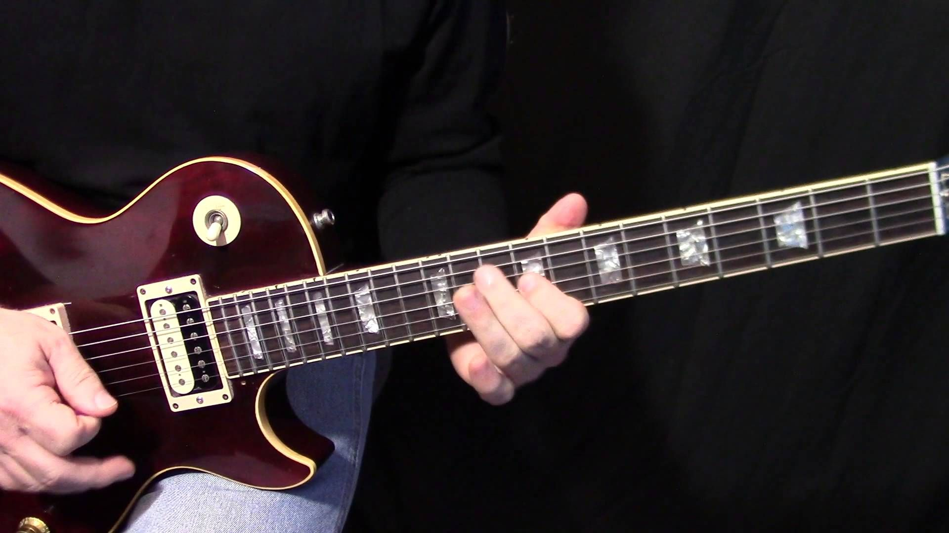 An Electric Guitar Lesson On How To Play Mississippi Queen By