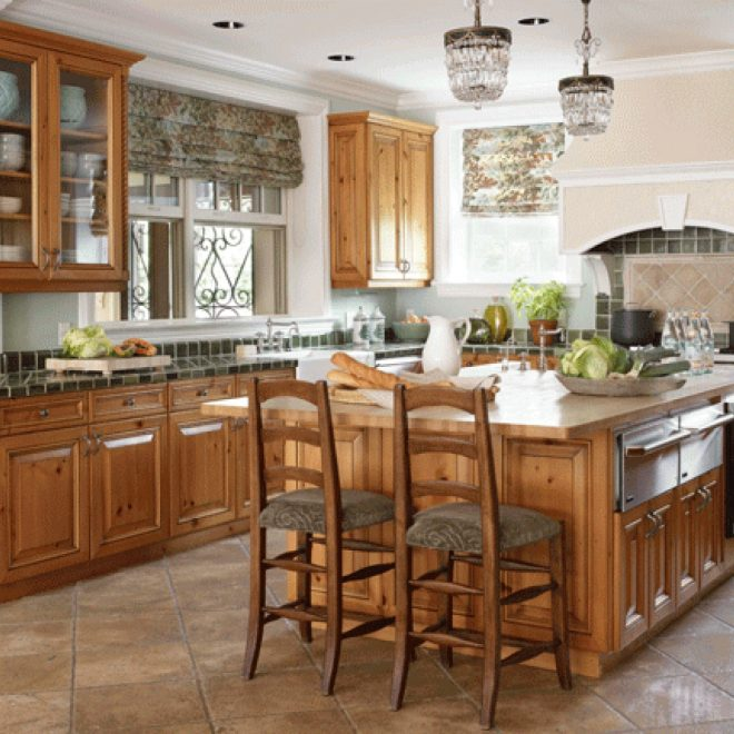 Brilliant Kitchen Design Ideas with Oak Cabinets | Opnodes ...