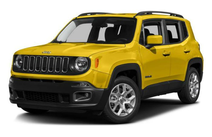 2017 Jeep Renegade Yellow Jeep Renegade 2015 Jeep Renegade Jeep