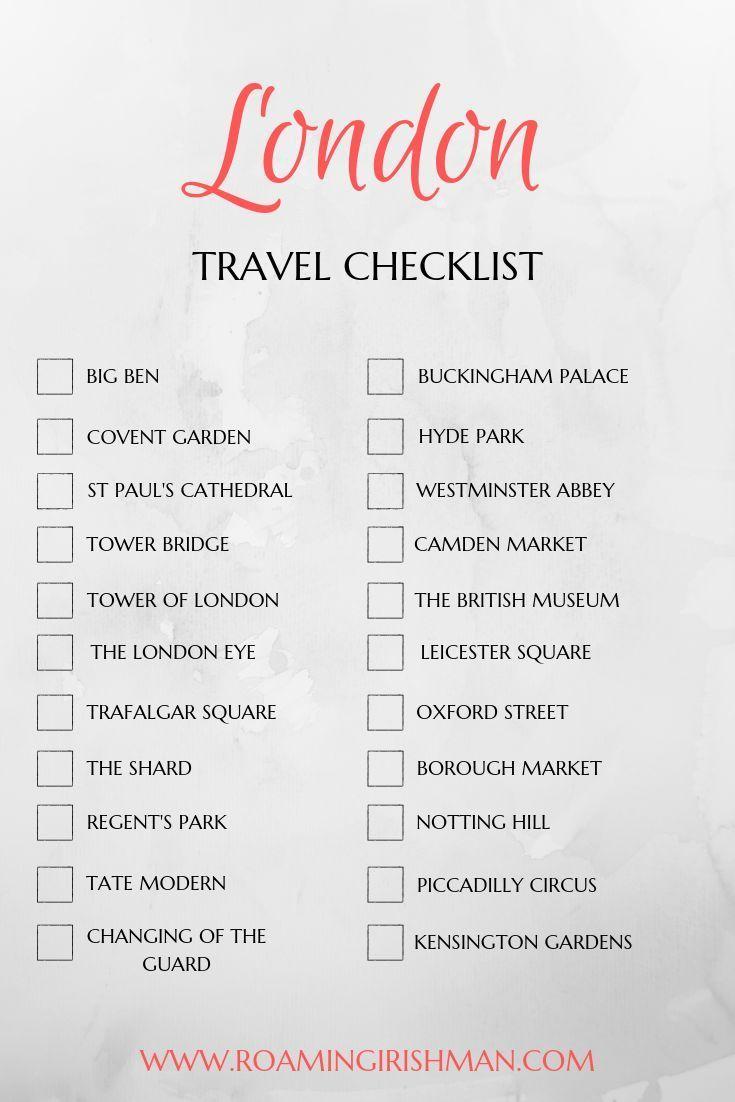 London Travel Guide - The Roaming Irishman