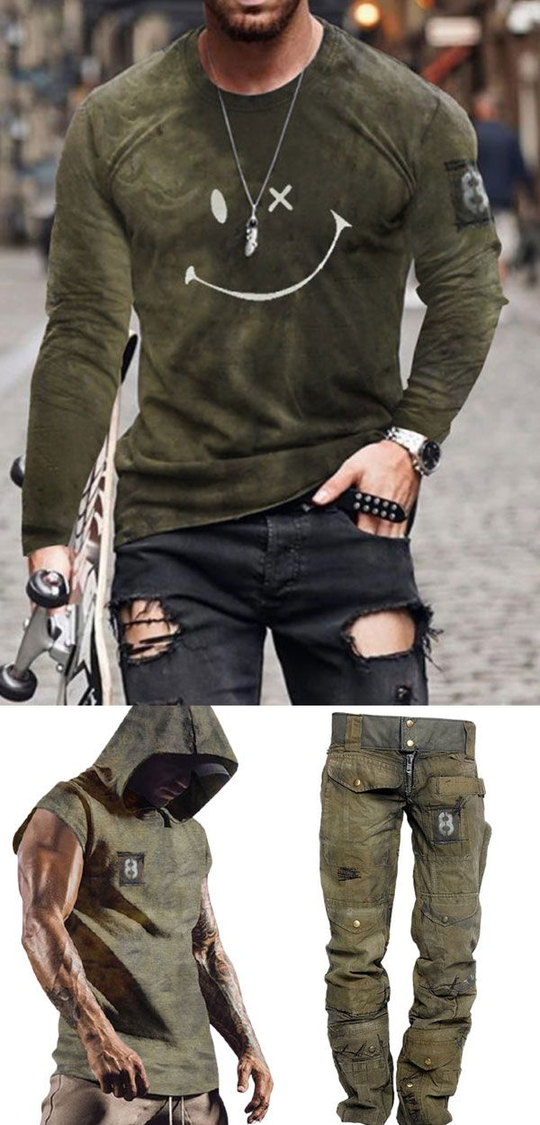 Photo of Mens T-shirts Outfits Idea