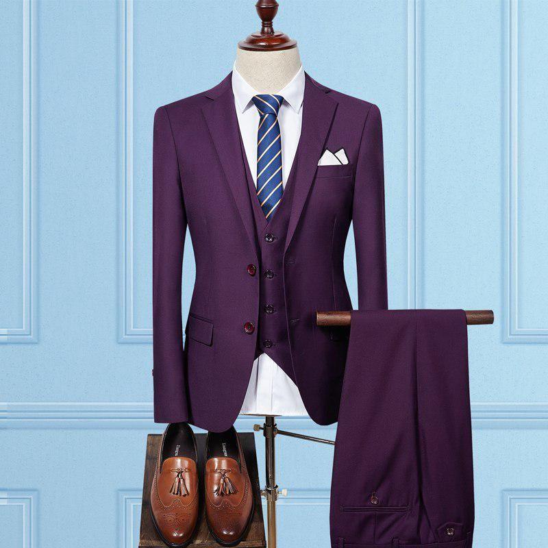 New Arrival Mens Suits With Pants Slim Fit Suits Men Business