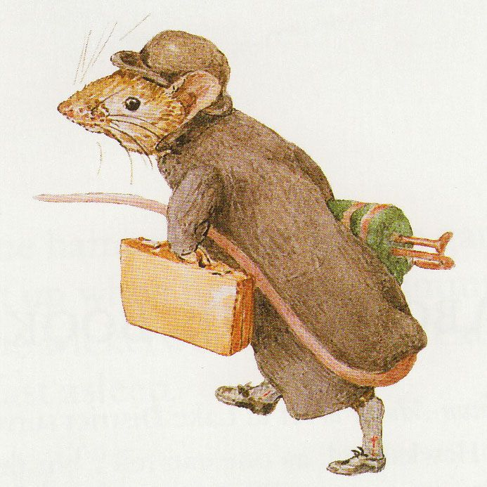 Johnny Town-Mouse, Beatrix Potter..... this could be the first city mouse - country mouse story?