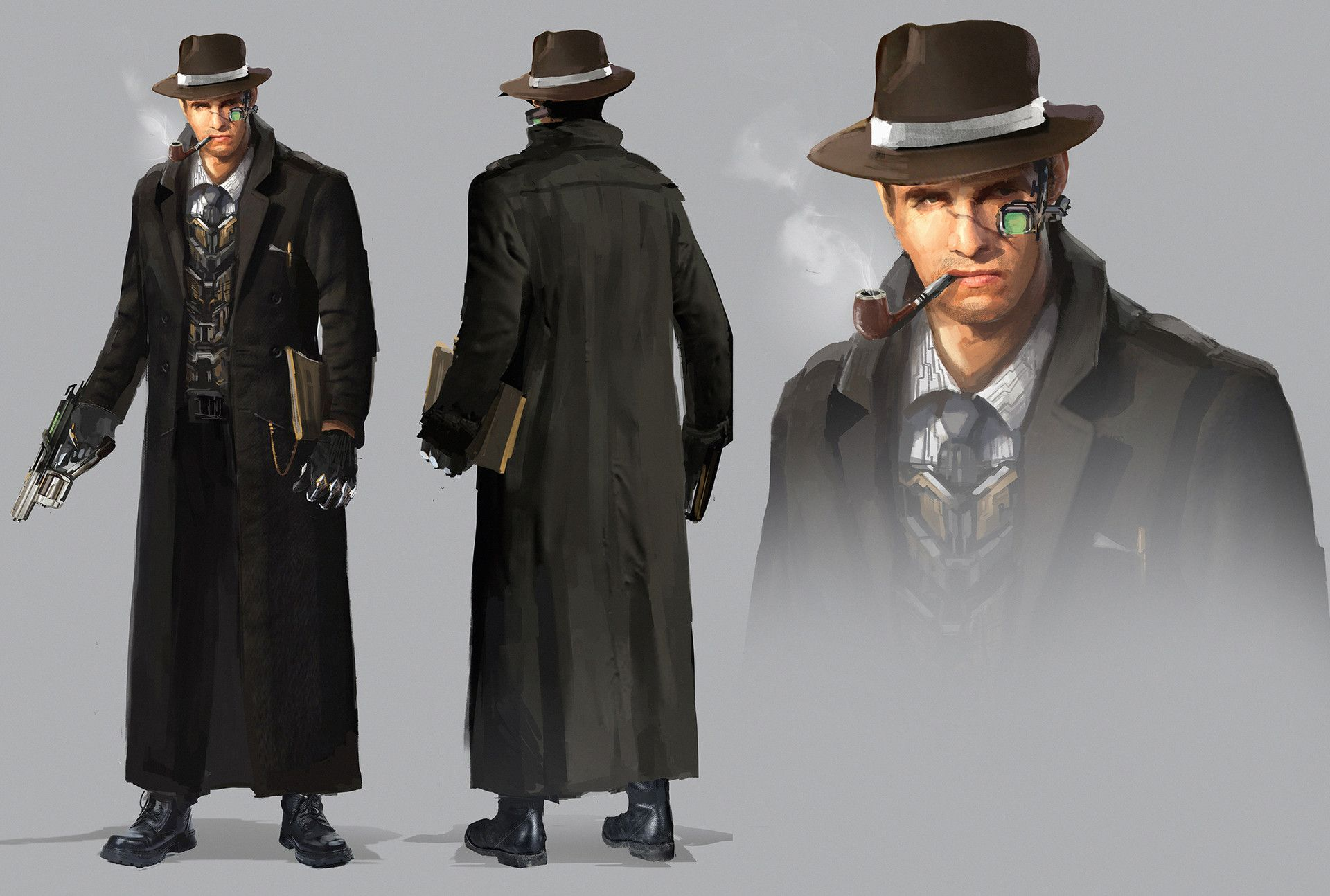 49+ Detective characters information