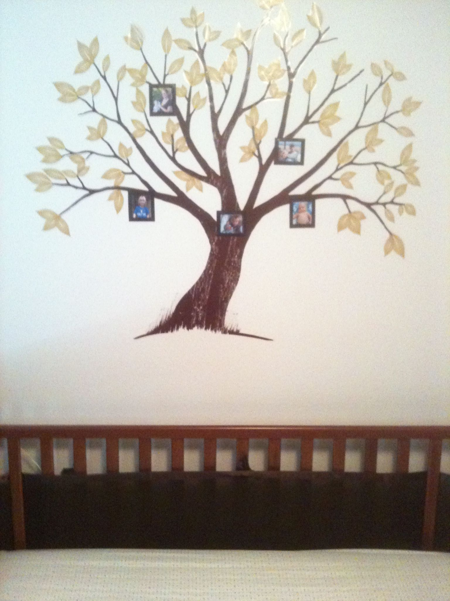 """""""Oak tree"""" Decal from Michael's"""