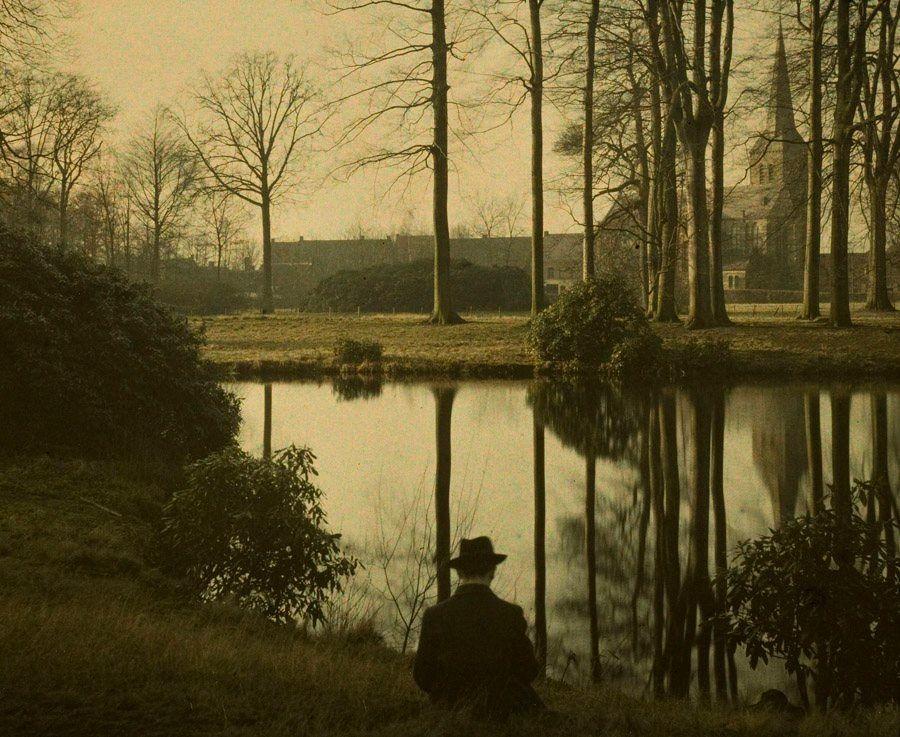 Charles Corbet - Melancholia, 1910, autochrome